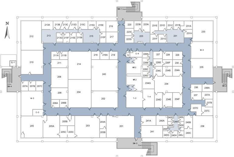 Bizzini Hall 2nd Floor