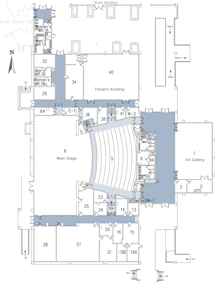 Theatre - 1st floor