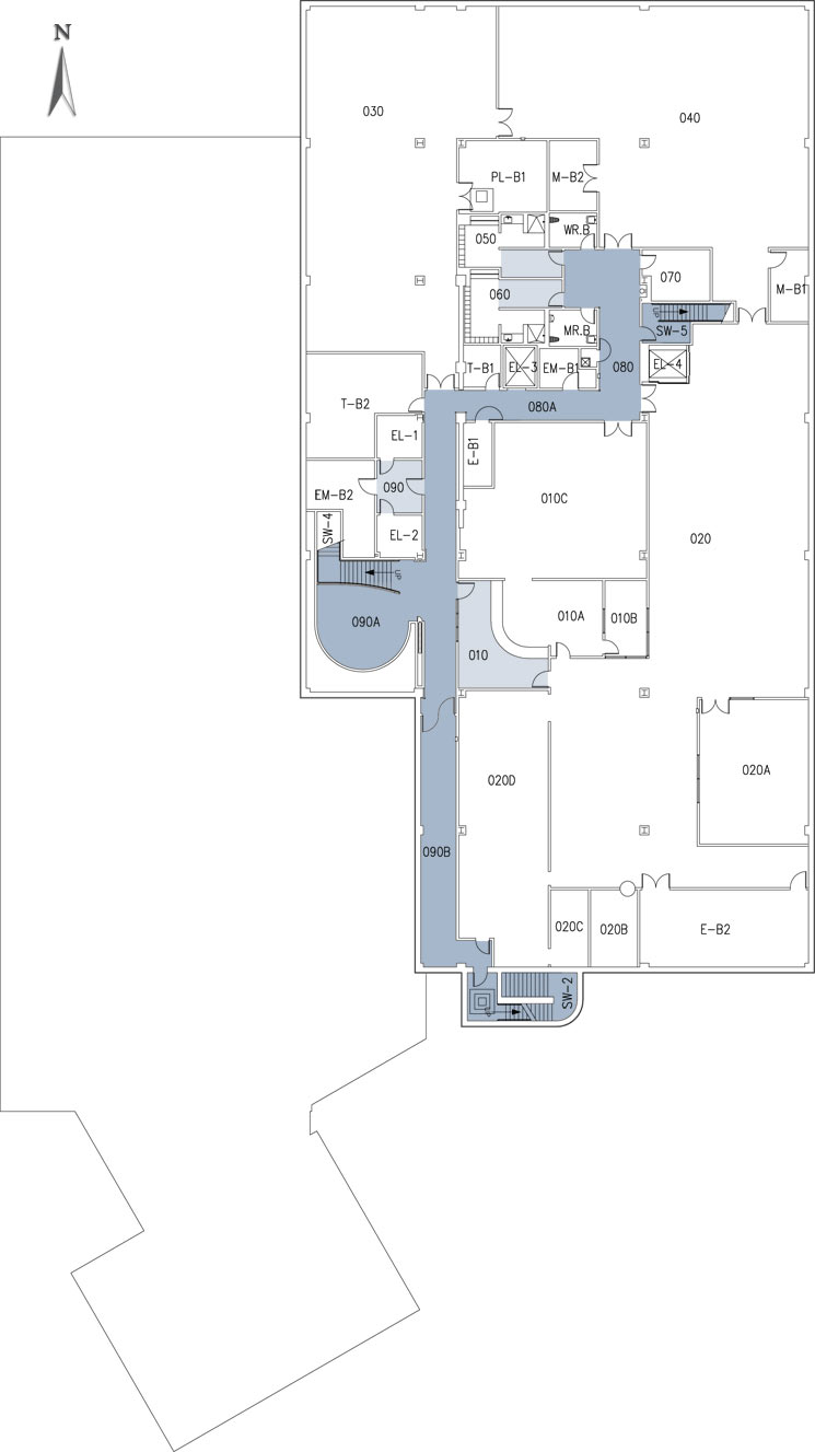 Basement california state university stanislaus for Trade show floor plan software