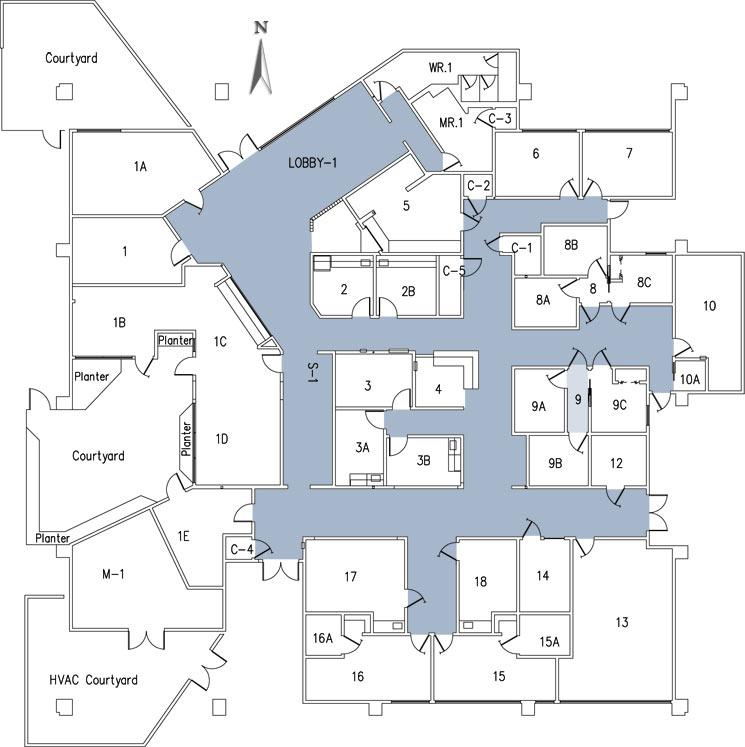 Health center california state university stanislaus for Healthy house plans