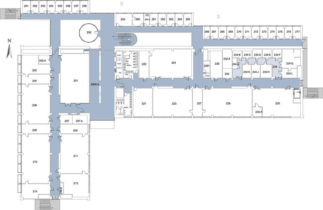 2nd floor california state university stanislaus for Floor 2 map swordburst 2