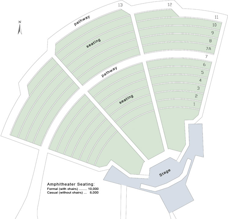 Amphitheater California State University Stanislaus