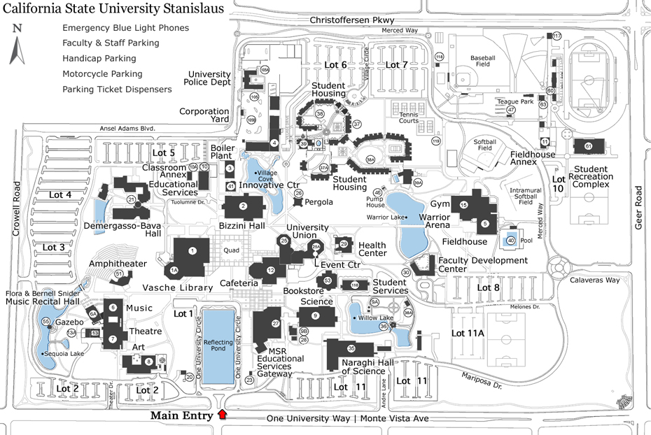 Csu Monterey Bay Campus Map.Breaking News Csueu E News December 12 2013