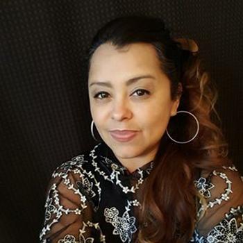 guest speaker Angelica Martinez