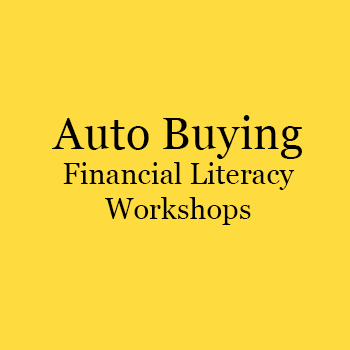 auto Buying financial literacy workshops