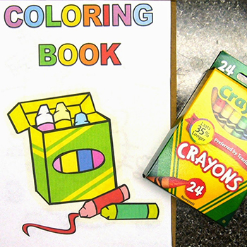 Coloring Books And Crayons Drive California State