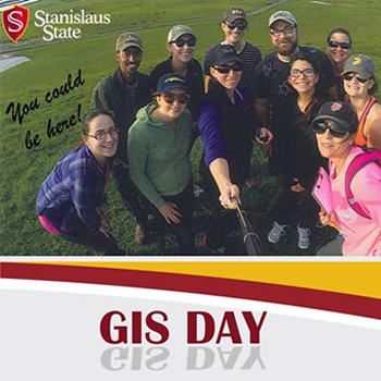 GIS Day and Stan State Logos
