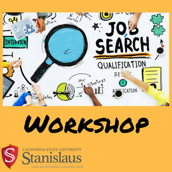Job and Internship Search Workshop