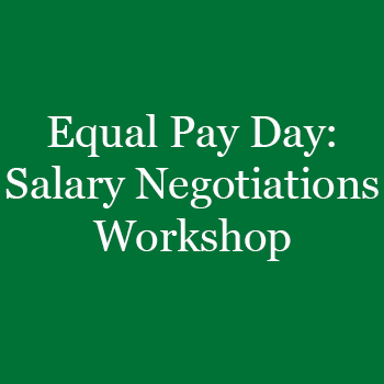 Equal Pay Day: Salary Negotiations