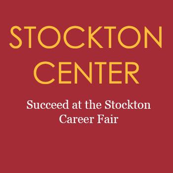 Stockton Center Succeed at stockton career fair