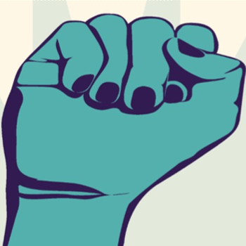 Know Your Rights! fist in the air