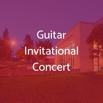 Stan State Guitar Invitational Concert
