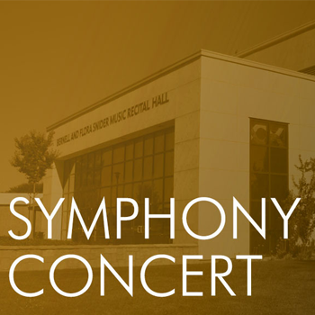 Stan State Symphony Orchestra Concert