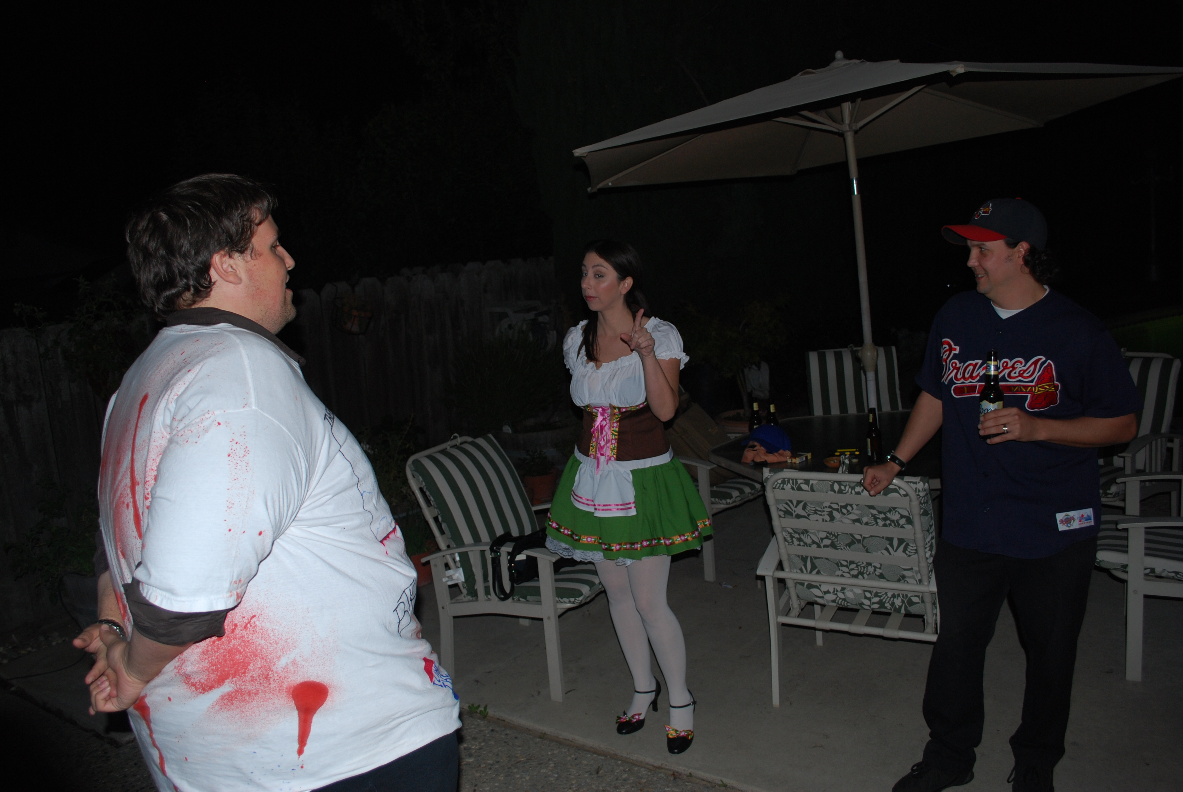 Phi Alpha Theta Halloween Party photo 4