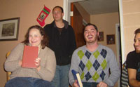 Phi Alpha Theta Christmas Party photo 3