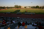 Soccer Match at Stadium