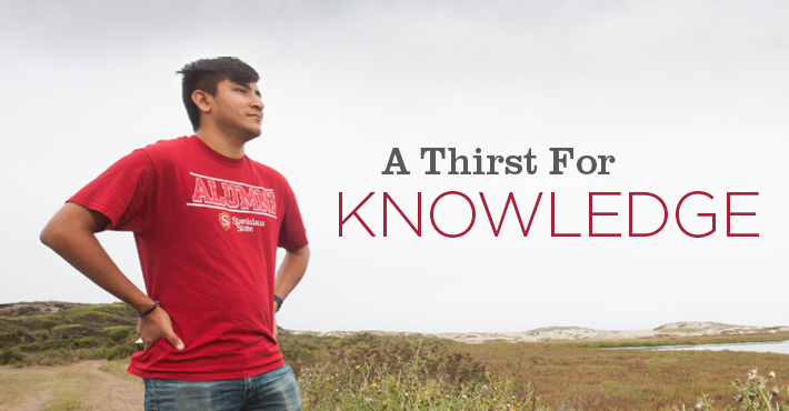 A Thirst for Knowledge