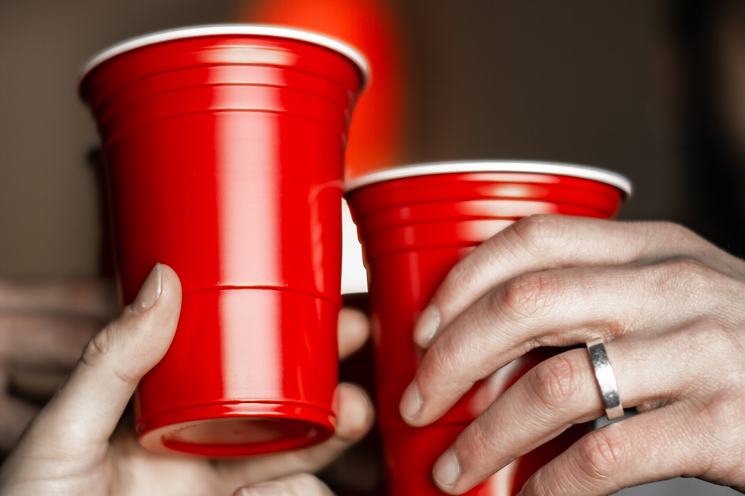 Red solo cups.