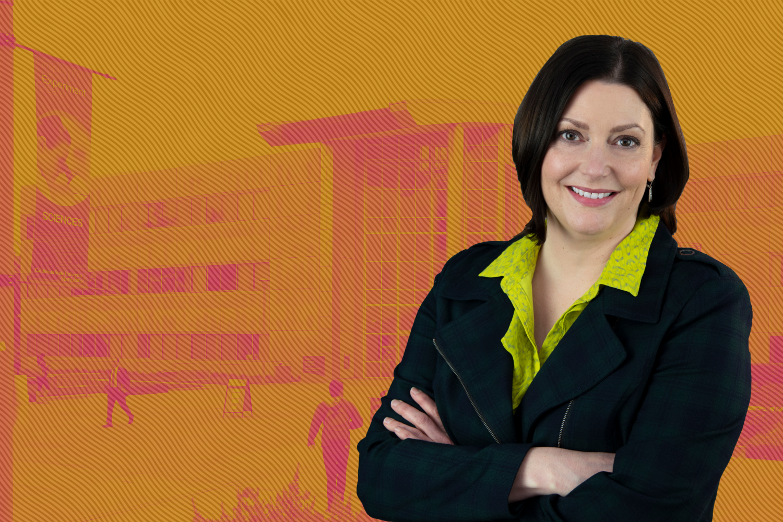 Christine Erickson. Vice President for Student Affairs.