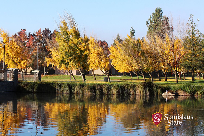 Stanislaus State pond.