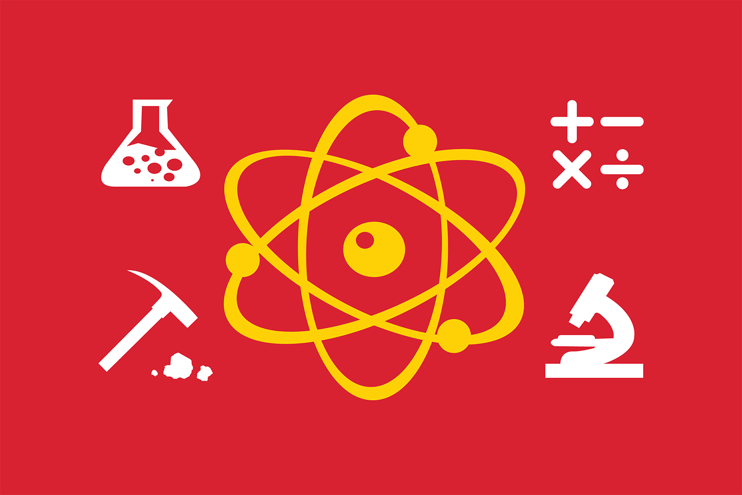 science day logo elements