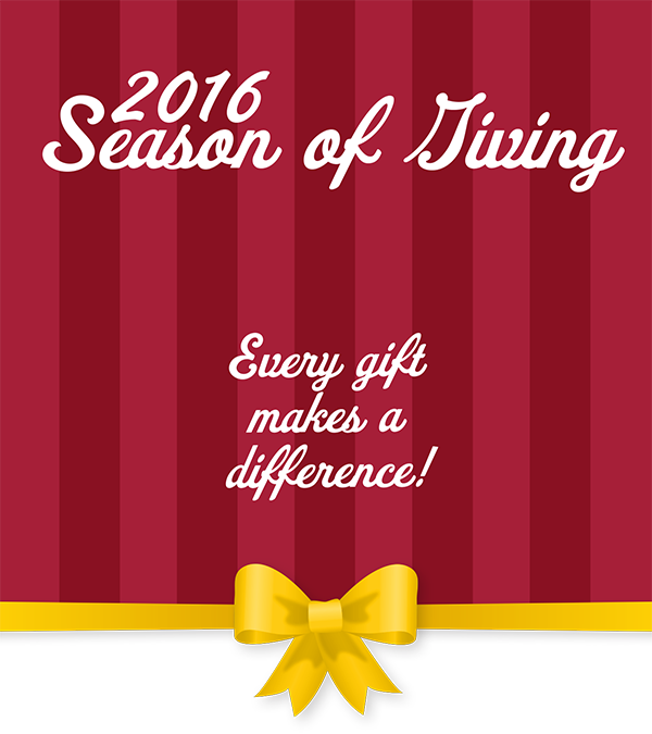 2016 Season of Giving