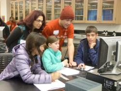 Photo from a Science Saturday