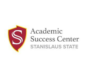 Stanislaus State shield logo. Stanislaus State. Academic Success Center.