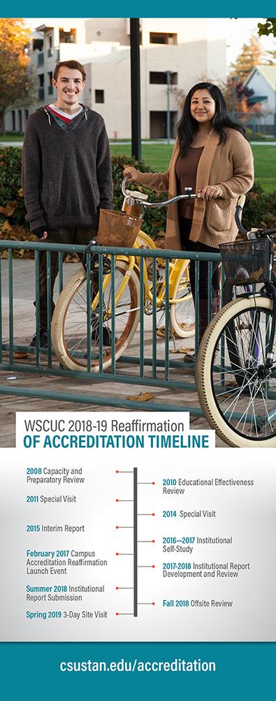 WSCUC 2018-19 Reaffirmation of Accreditation Timeline