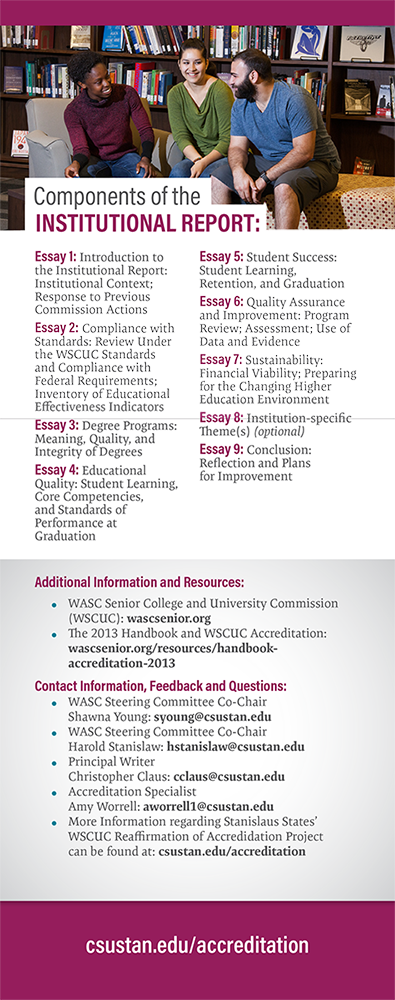 Components of the Institutional Report