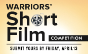 Short Film Competition Flyer. Submit yours by Friday, April 13