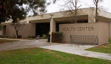 Student Health Center exterior photo.