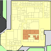 We are located in the Library Building, Suite 110. Click the map for a larger map.