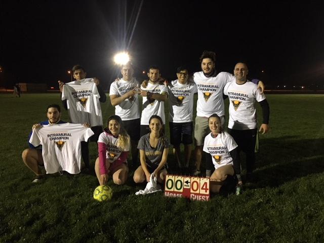 7 vs 7 Co-Rec Soccer League (TKE, Champions)