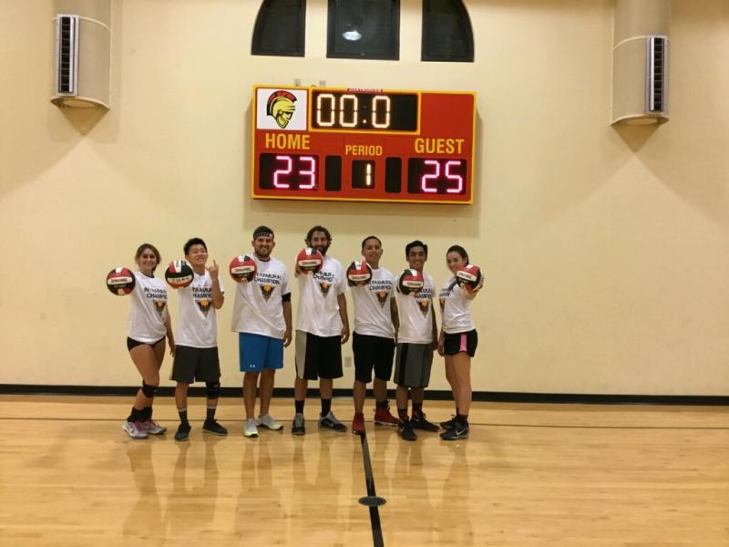 6 vs 6 Co-Rec Volleyball League (Cloud_7, Champions)