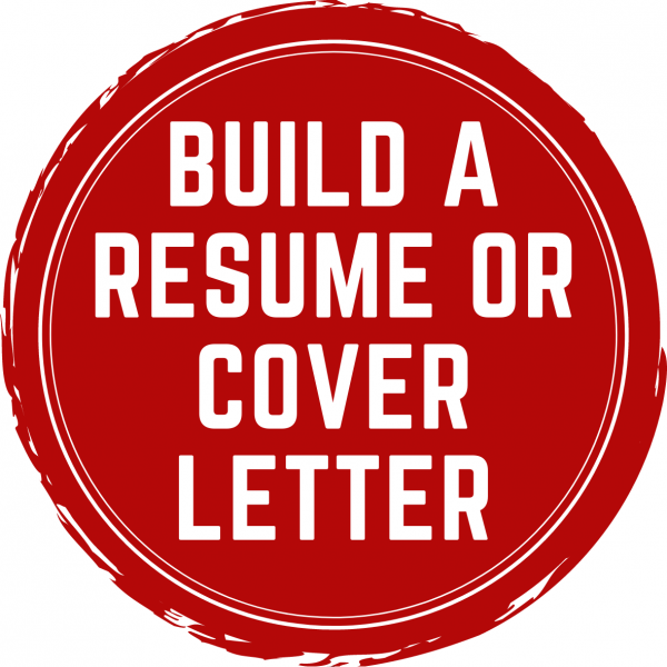 build a resume or cover letter