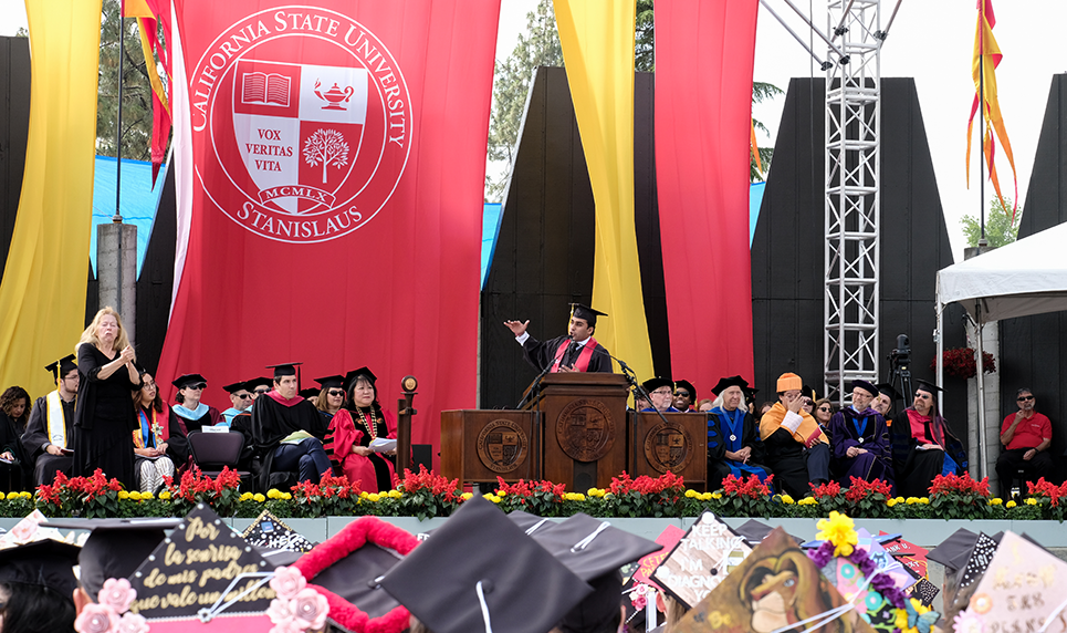 Celebrate 2019 Stan State Commencement