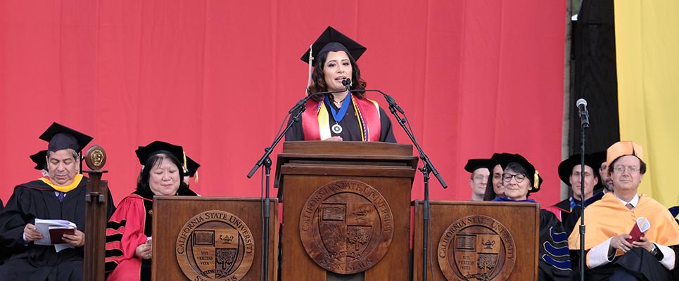 Student Commencement Speaker: Linda Hayden
