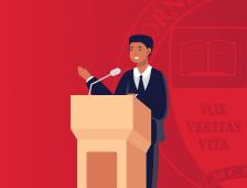 Student Speaker icon.