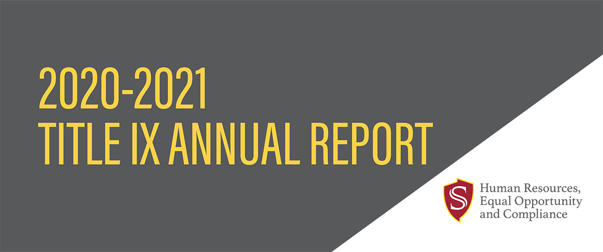 2020-2021 Title IX Annual Report