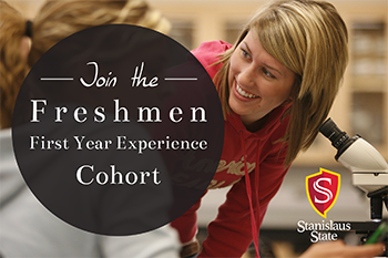Join the Freshman First Year Experience Cohort