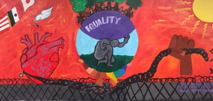Diversity Center Art Mural
