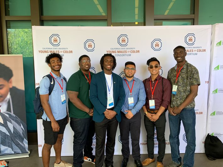Male success initiative group photo