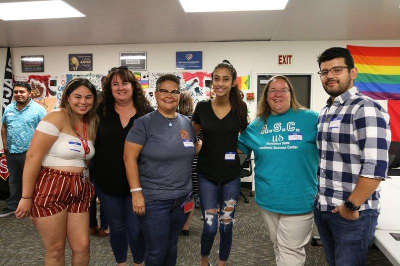 LGBTQ+ Mentorship Program event group photo