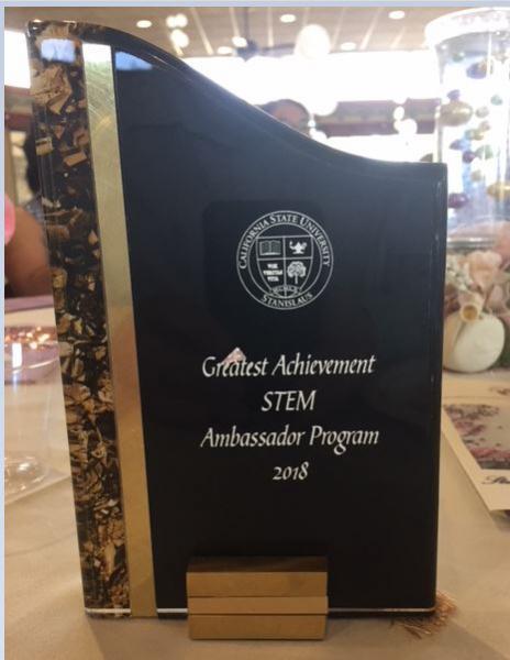Greatest achievement STEM award