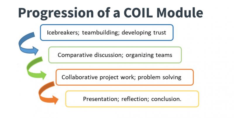 Progression of a COIL Module