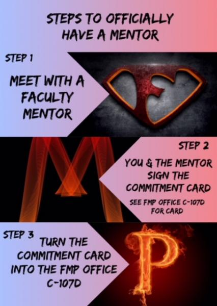 Turn the commitment card into the FMP office C107D.