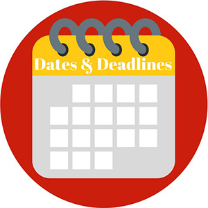 Dates & Deadlines