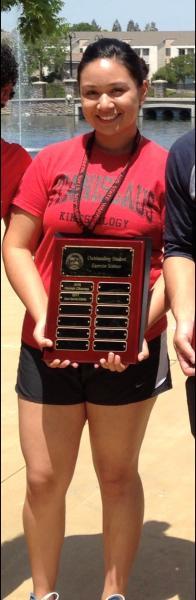 Picture of Alexa Sanchez-Estrada Outstanding Exercise Science Student