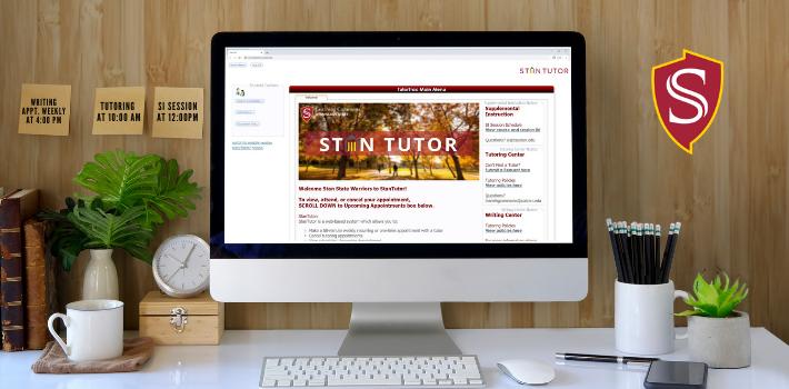 desktop screen with StanTutor open